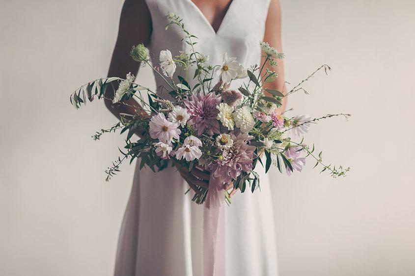 Bouquet rosa e delicato