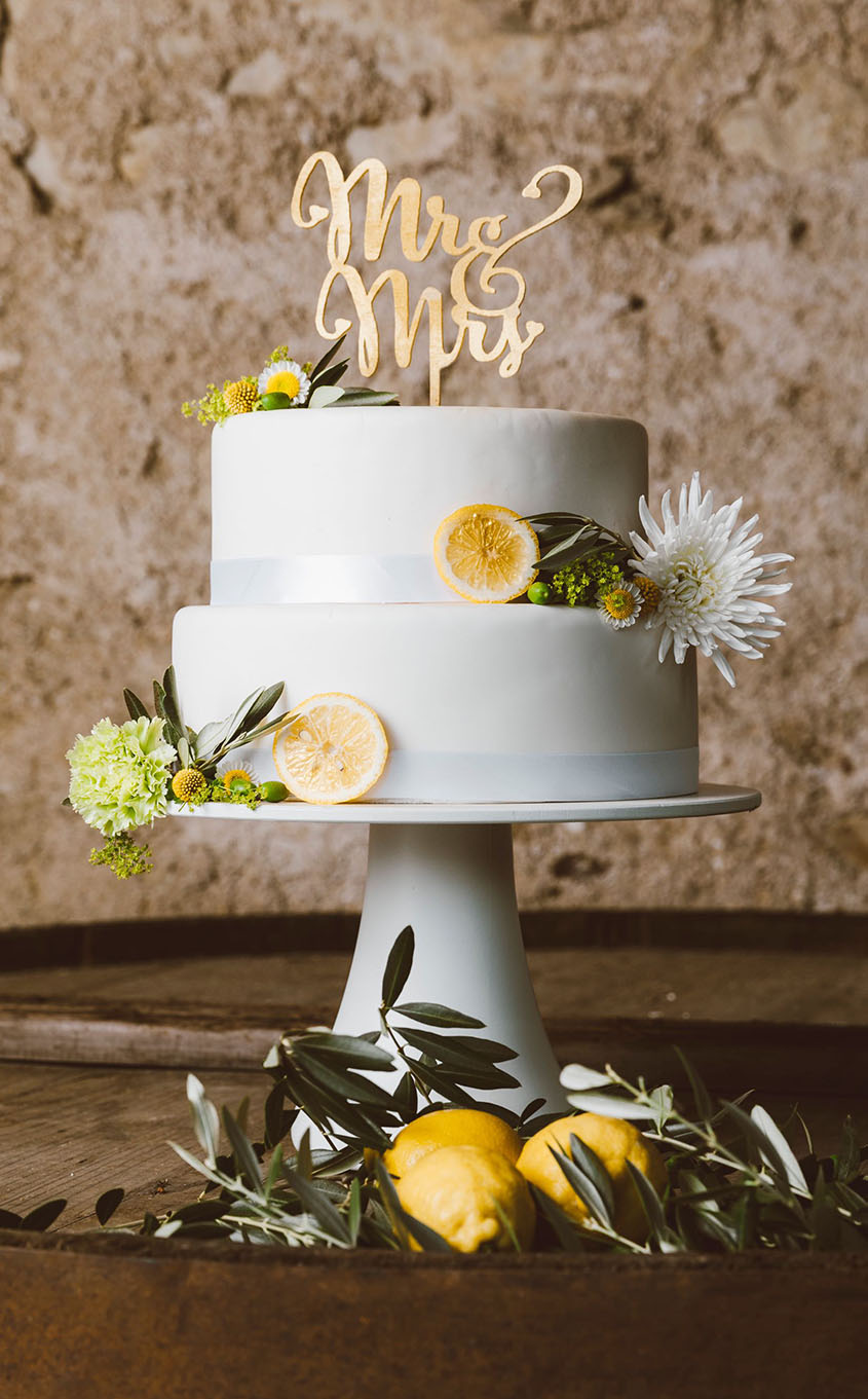 Decorazioni floreali sulla torta