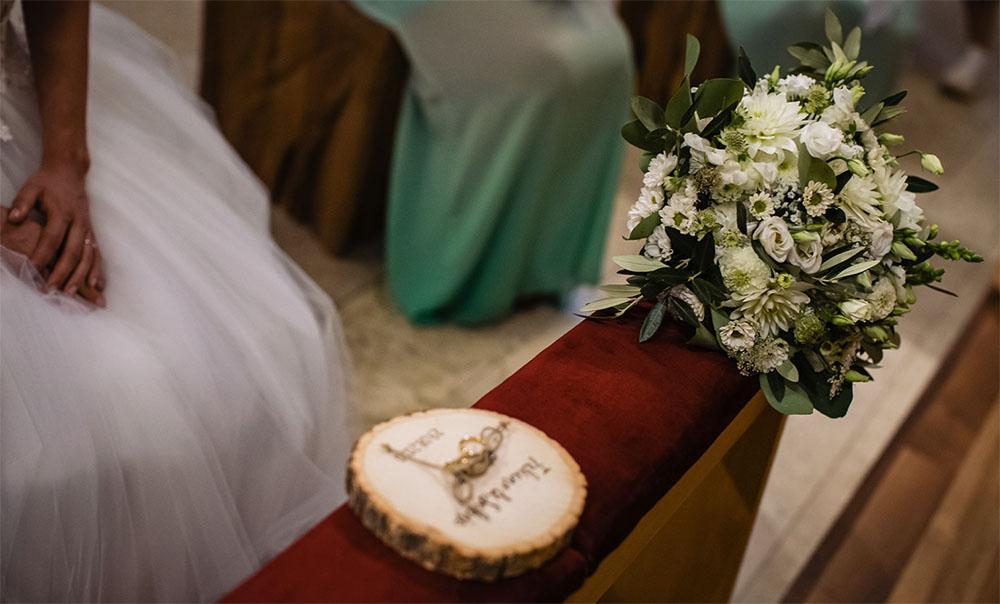 S+F bouquet da sposa chiesa dei Domenicani