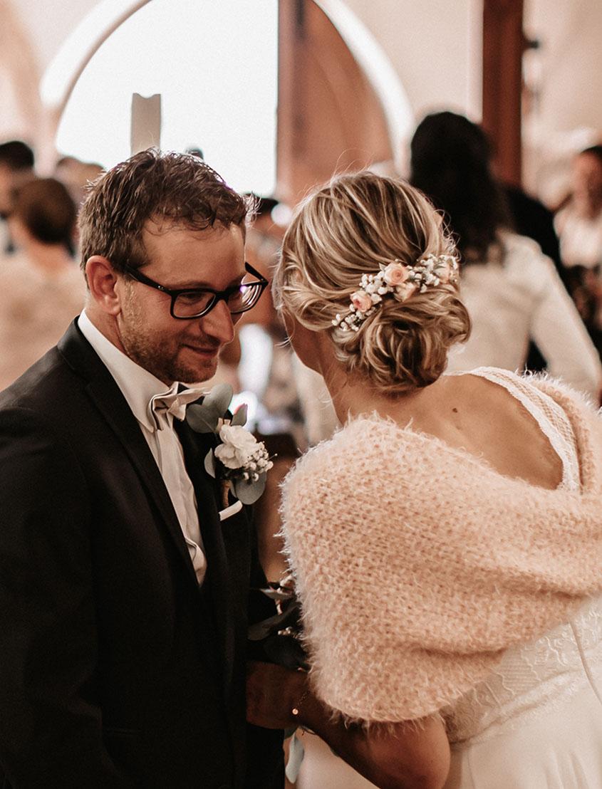 Matrimonio in Alto Adige - decorazione chiesa