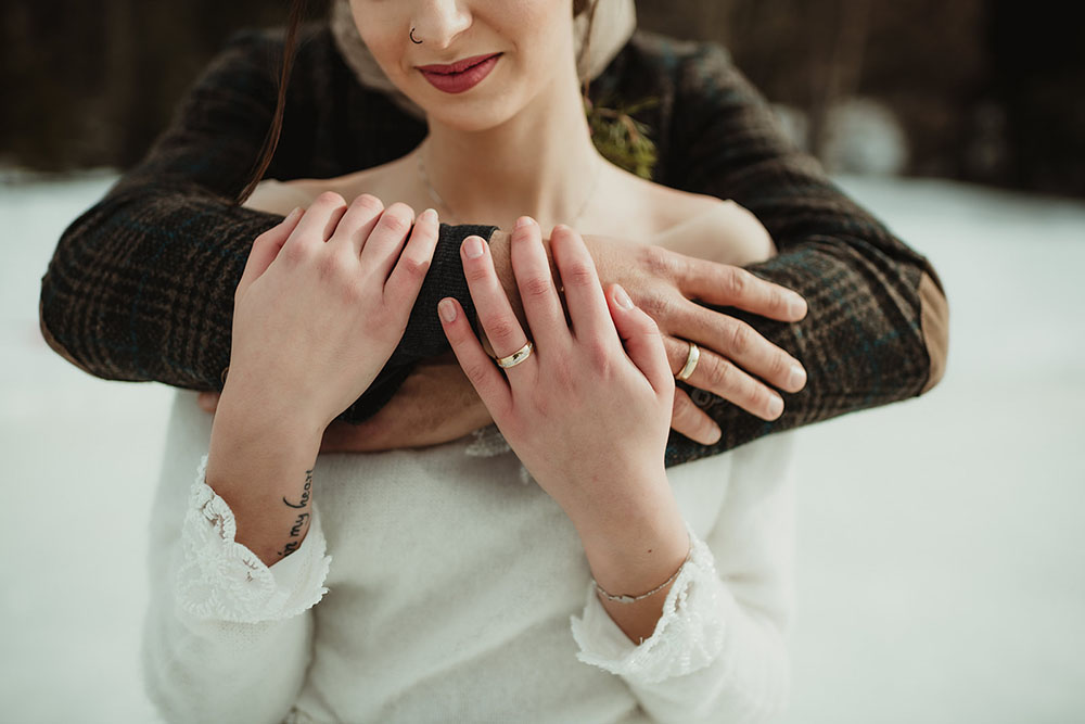 Matrimonio sulla neve in Alto Adige - Südtirol