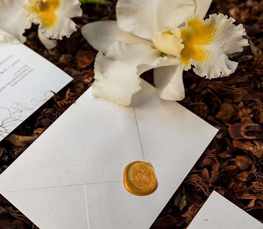 inviti e wedding stationery bianco avorio e oro