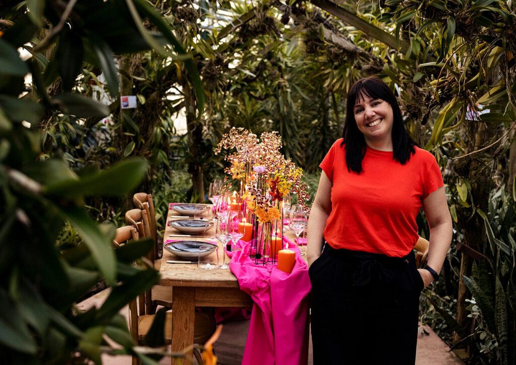 Backstage shooting da Raffeiner Orchideenwelt