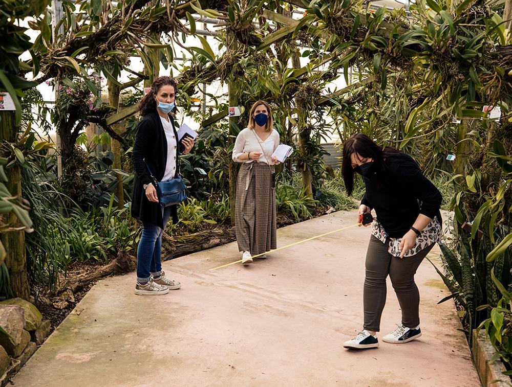 Sopralluogo shooting da Raffeiner Orchideenwelt