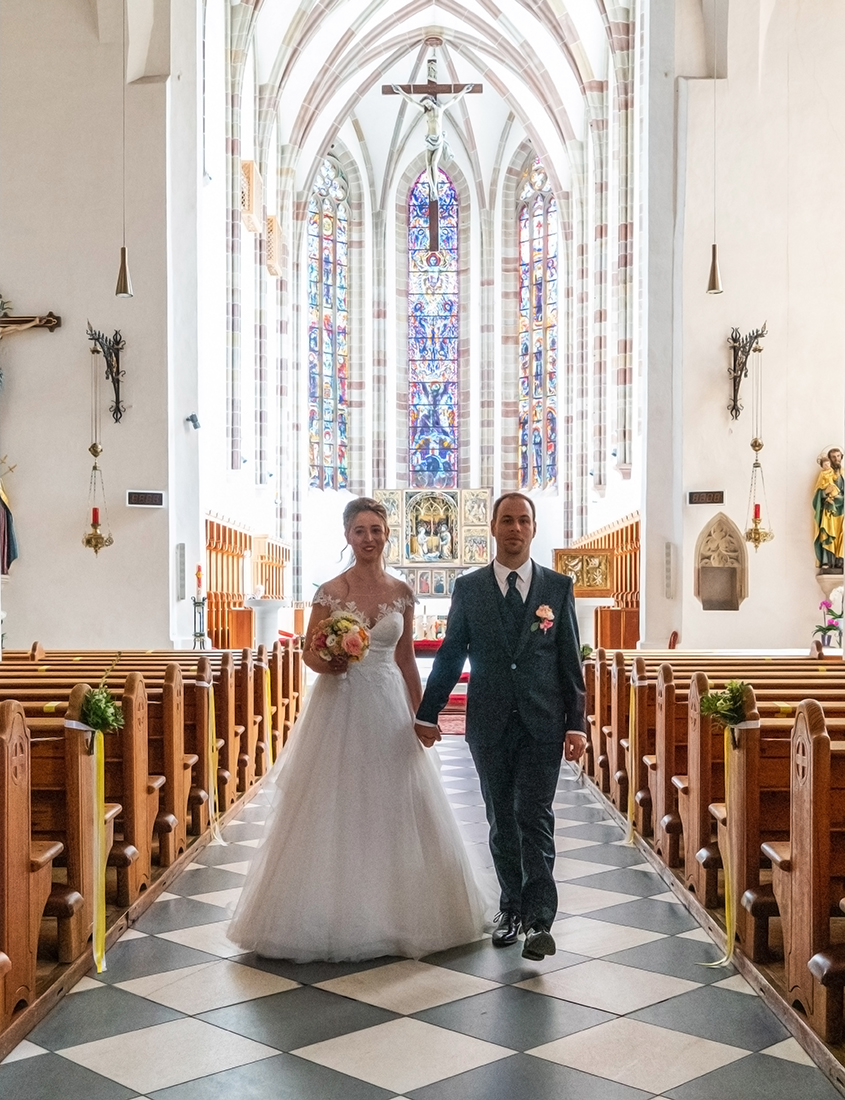 Matrimonio chiesa Francescani a Bolzano
