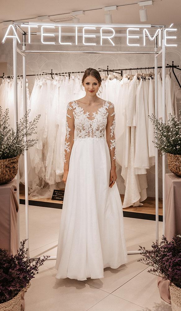 Sfilata abiti da sposa Atelier Emé