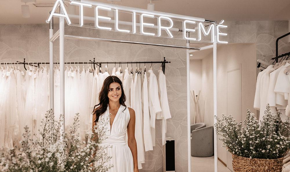 Presentazione abiti da sposa Atelier Emé