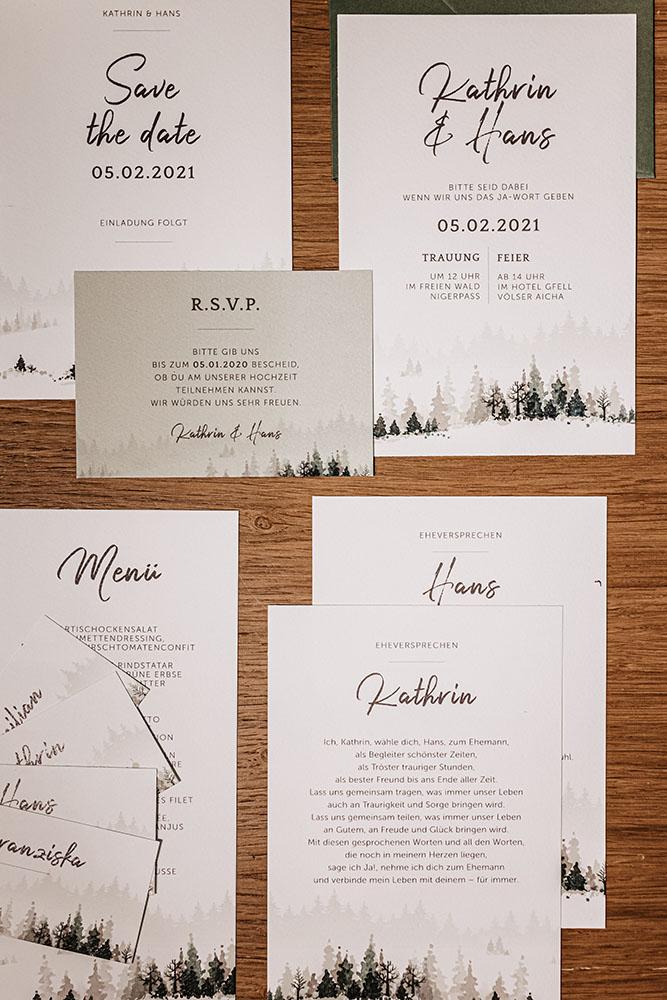 Inviti e wedding stationery